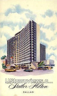 Statler Hilton - Dallas, Texas TX Postcard