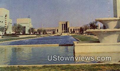 Esplanade, Texas State Fair Grounds - Dallas Postcard