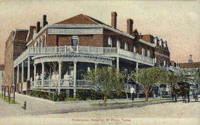 Providence Hospital - El Paso, Texas TX Postcard