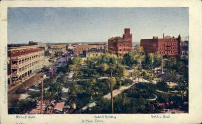 Orndoff Hotel - El Paso, Texas TX Postcard