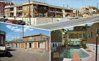 Royal Lodge - El Paso, Texas TX Postcard