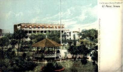 Hotel Orndoff - El Paso, Texas TX Postcard