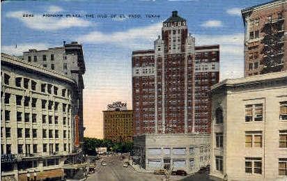 Pioneer Plaza - El Paso, Texas TX Postcard