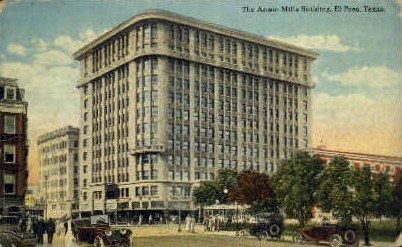 The Anson Mills Building - El Paso, Texas TX Postcard
