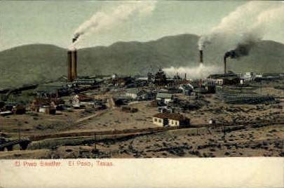 Smelter - El Paso, Texas TX Postcard