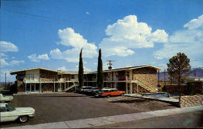 Bel Air Lodge - El Paso, Texas TX Postcard