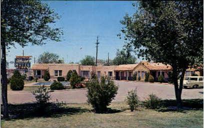 Glenwood Motel - El Paso, Texas TX Postcard