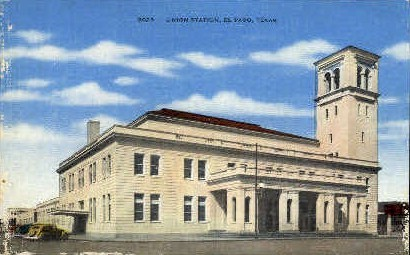 Union Station - El Paso, Texas TX Postcard