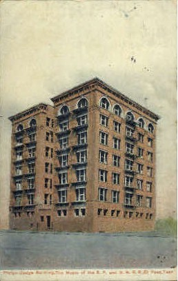 Phelps-Dodge Building - El Paso, Texas TX Postcard
