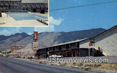 Sunset Motor Inn - El Paso, Texas TX Postcard