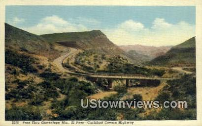 Guadalupe Mtns - El Paso, Texas TX Postcard