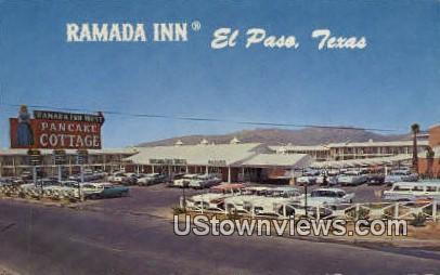 Ramada Inn - El Paso, Texas TX Postcard