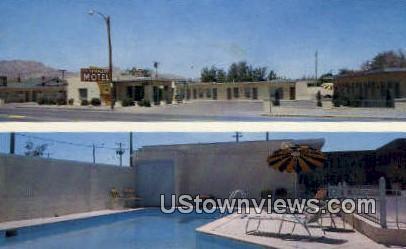 Spindler's Motel - El Paso, Texas TX Postcard