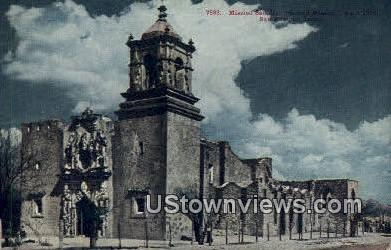 Mission San Jose Second Mission, 1720 - San Antonio, Texas TX Postcard