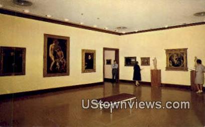 El Paso Museum of Art - Texas TX Postcard