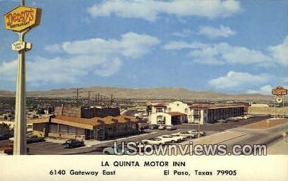 La Quinta Motor Inn - El Paso, Texas TX Postcard