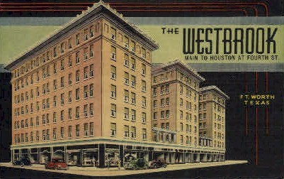 The Westbrook - Fort Worth, Texas TX Postcard