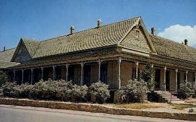 Riggs Museum - Fort Stockton, Texas TX Postcard