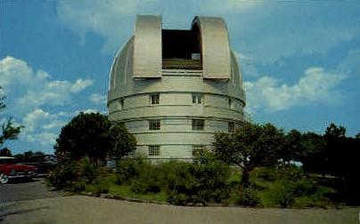 McDonald Observatory - Fort Davis, Texas TX Postcard
