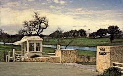 The Texas White House - Fredricksburg Postcard