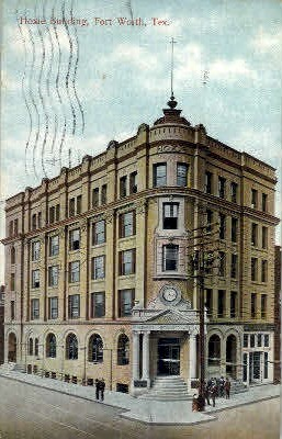 Hoxie Building - Fort Worth, Texas TX Postcard