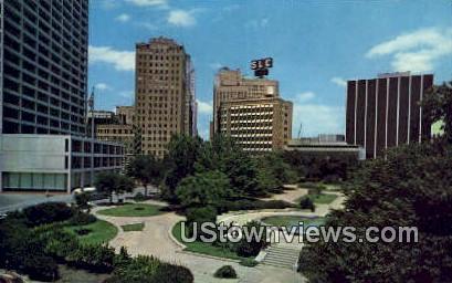 Burk Burnett Park - Fort Worth, Texas TX Postcard