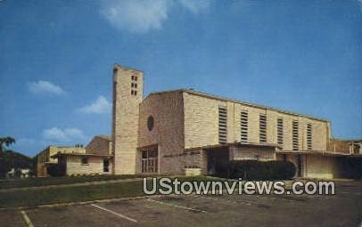 Sagamore Hill Baptist Church - Fort Worth, Texas TX Postcard