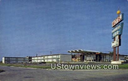Drummers Inn Motel - Fort Worth, Texas TX Postcard