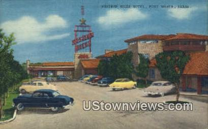 Western Hills Hotel - Fort Worth, Texas TX Postcard
