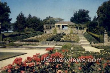 Botanic Gardens, Rock Spring Park - Fort Worth, Texas TX Postcard
