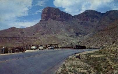 Guadalupe And Signal Peaks - Misc, Texas TX Postcard