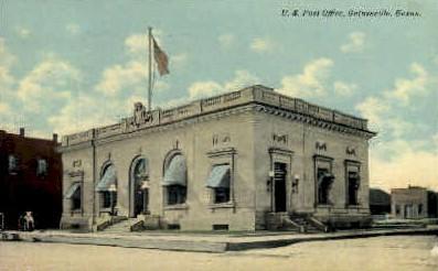 Post Office - Gainesville, Texas TX Postcard