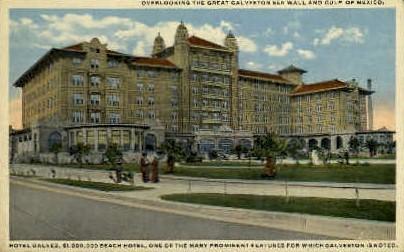 Hotel Galvez - Galveston, Texas TX Postcard