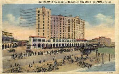 Buccaneer Hotel - Galveston, Texas TX Postcard