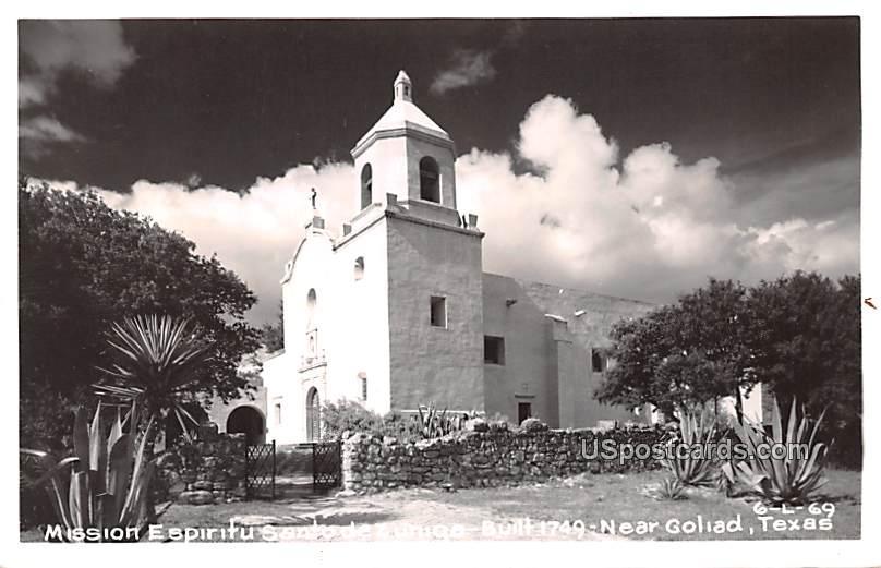 Mission Espiritu Santo de Zuniga - Goliad, Texas TX Postcard
