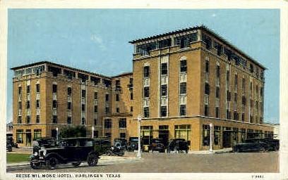 Reese-Wil-Mond Hotel - Harlingen, Texas TX Postcard