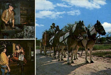 Six Shooter Junction - Harlingen, Texas TX Postcard