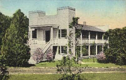 The Steamboat House - Huntsville, Texas TX Postcard