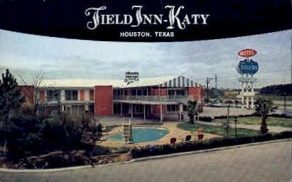 Field Inn-Katy - Houston, Texas TX Postcard