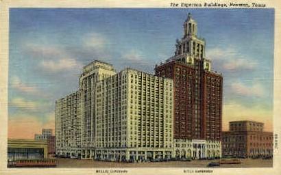 The Esperson Buildings - Houston, Texas TX Postcard