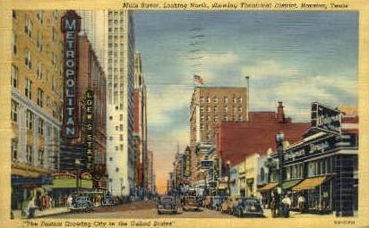 The Fastest Growing City - Houston, Texas TX Postcard