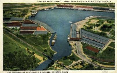 Buffalo River - Houston, Texas TX Postcard