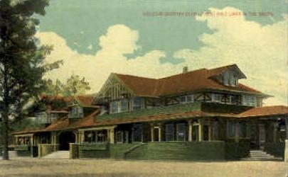 Houston Country Club - Texas TX Postcard