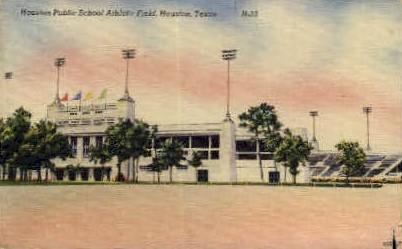 Houston Public School  - Texas TX Postcard