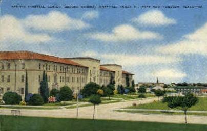 Brooke General Hospital - Houston, Texas TX Postcard