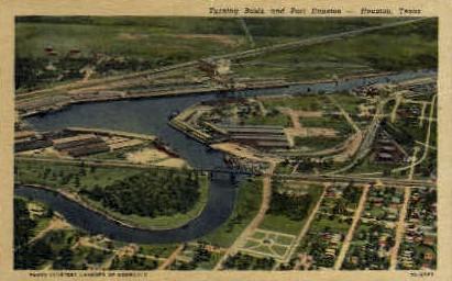 Port Houston - Texas TX Postcard