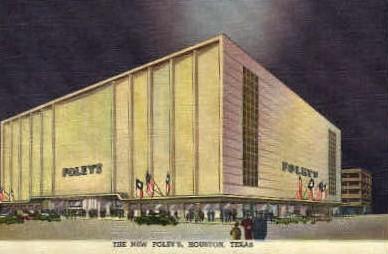 Foley's - Houston, Texas TX Postcard