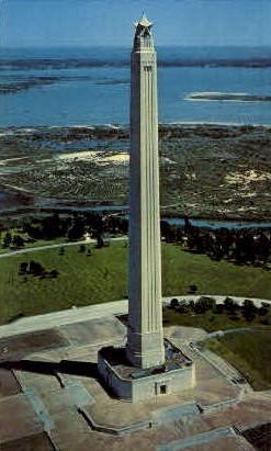 San Jacinto Monument - Houston, Texas TX Postcard