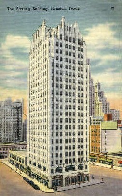 The Sterling Building - Houston, Texas TX Postcard