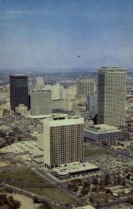 Fabulous Houston - Texas TX Postcard